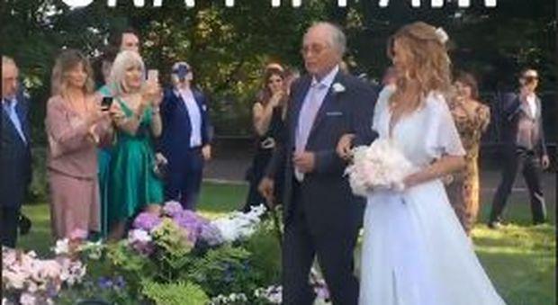 Matrimonio Filippa Lagerback : Fillippa lagerback e daniele bossari sposi in tv barbara