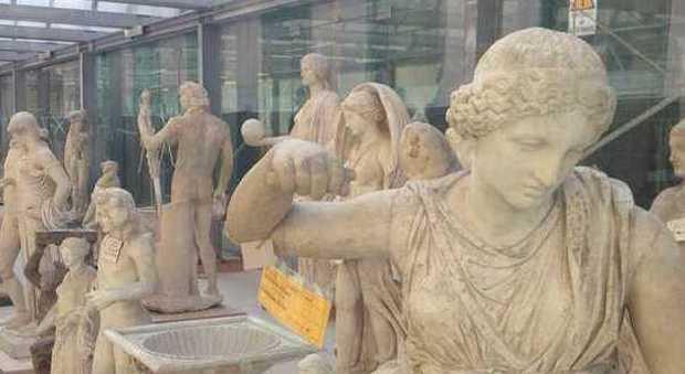 Museo Archeologico a Napoli riapre la sezione egizia