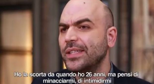 Salvini a Saviano: «Valutiamo scorta» Lo scrittore: «Ministro della malavita»