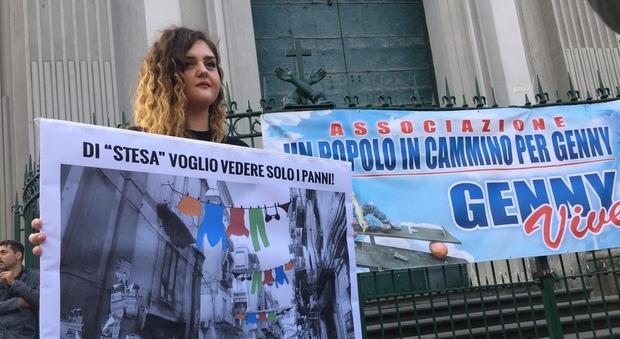 Rione Sanità in piazza contro le stese: «Il quartiere urla il suo no»