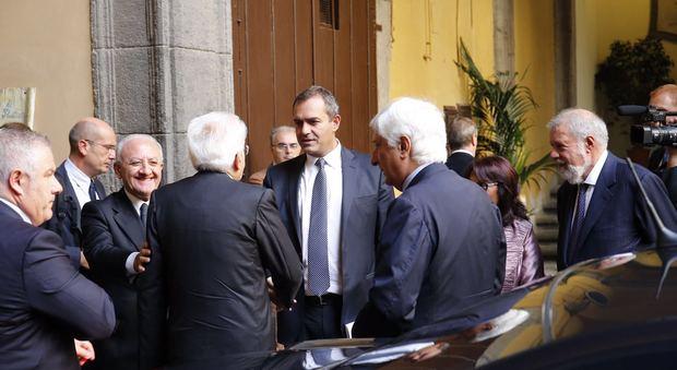 De Magistris, caffè con Mattarella: onorato, non sono sulle barricate