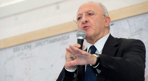 De Luca: 3 miliardi di fondi Ue al Comune di Napoli