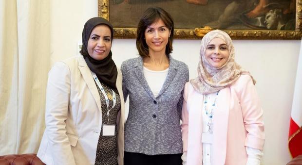 Donne parlamentari giordane e marocchine incontrano mara for Parlamentari donne