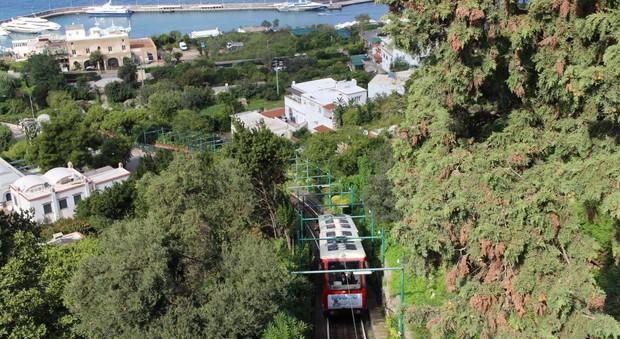 Capri, via barriere architettoniche dalla Funicolare: studio di fattibilità