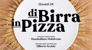 Lievito ricavato dalla birra, abbinamenti e pizze: serata da Dodici ad Aversa