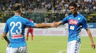 Napoli da sballo, pokerissimo al Carpi: 5-1, primo gol per Inglese e Vinicius