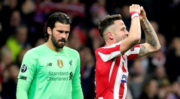 Atletico Madrid-Liverpool 1-0:  decide ?Saul al Wanda Metropolitano