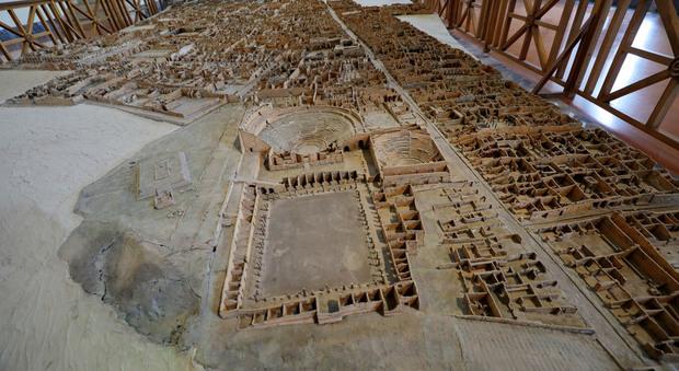 Napoli, presentazione del Grande Plastico di Pompei Museo Mann (Newfotosud, Alessandro Garofalo)