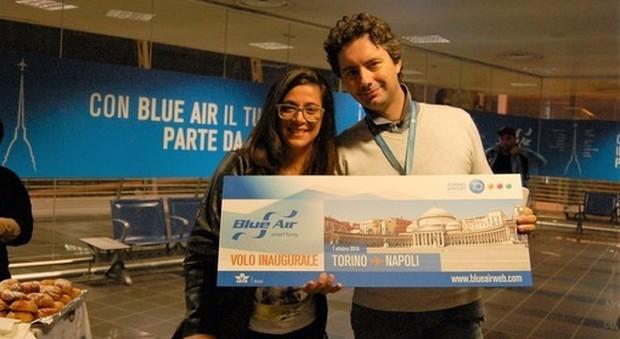 Napoli e Torino sono più vicine inaugurata la nuova rotta Blue Air