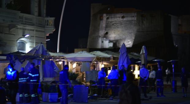 Napoli, nel ristorante sul lungomare un ferito a causa della stufa a gas