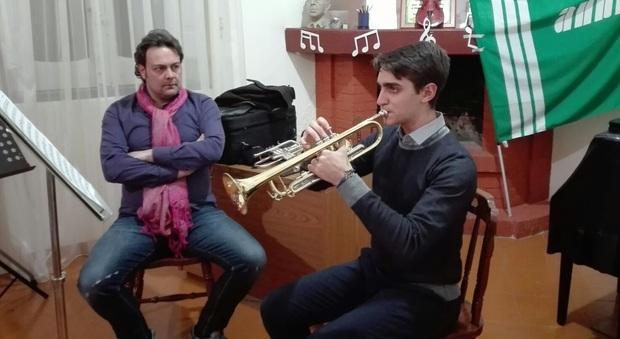 Musica masterclass con il maestro fabrizi prima tromba for Casa artigiana progetta il maestro del primo piano