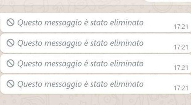 WhatsApp, come recuperare e leggere i messaggi eliminati