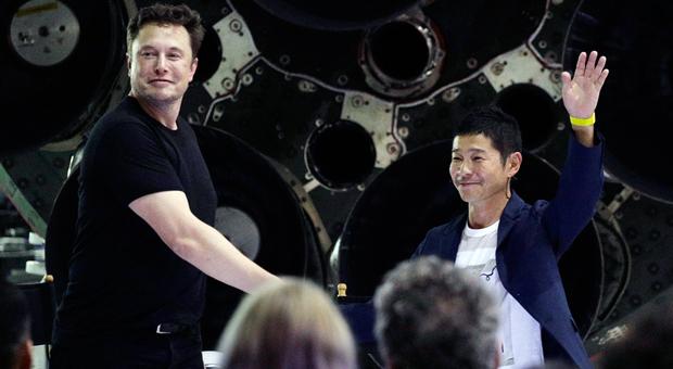 Miliardario giapponese primo turista spaziale attorno alla Luna con SpaceX di Musk: astronauti e artisti