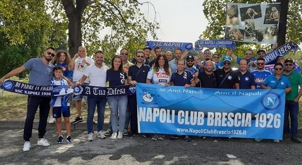 Il Club Napoli Brescia tifa donna: dal presidente alle tante famiglie