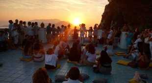 Capri, concerto emozionale all'alba a Villa Lysis