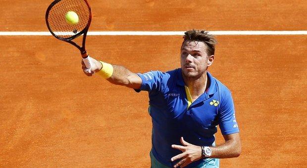 Wawrinka eliminato a Montecarlo: battuto da Cuevas agli ottavi di finale
