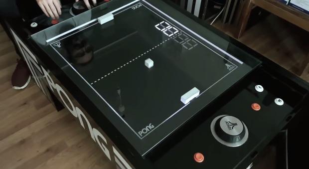 Pong, la seconda vita del mitico videogioco Atari