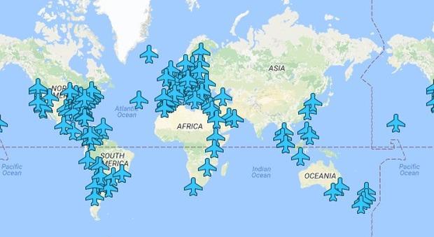 Le password wifi degli aeroporti? Eccole in una mappa interattiva