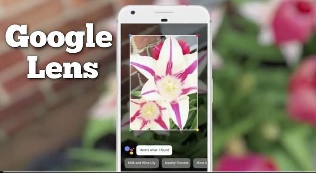 Google Lens, la fotocamera intelligente arriva sui dispositivi Android