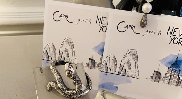 Il made in Capri sbarca a New York con le creazioni di Farella e Puttini - Il Mattino