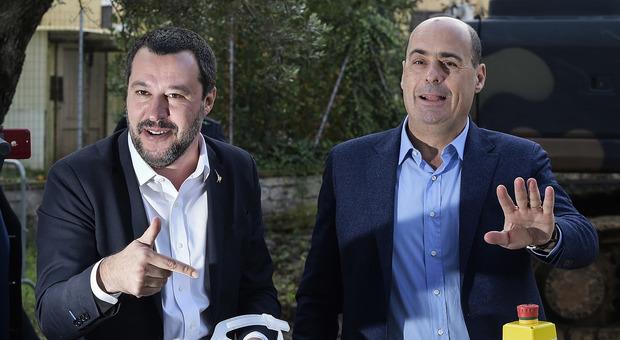 Salvini e la citofonata, Zingaretti attacca: «Lo faccia con i mafiosi che non ha catturato»