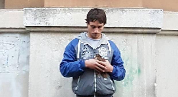 Napoli, beccaccia aggredita da gabbiano a Santa Lucia: il salvataggio in extremis