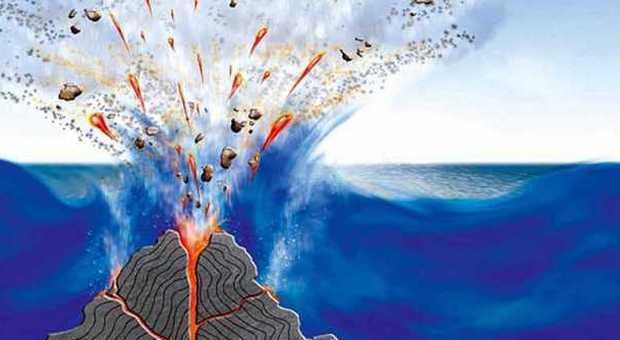 Vulcani Disegni: Un Pozzo Per Esplorare Il Marsili, Il Vulcano Sottomarino