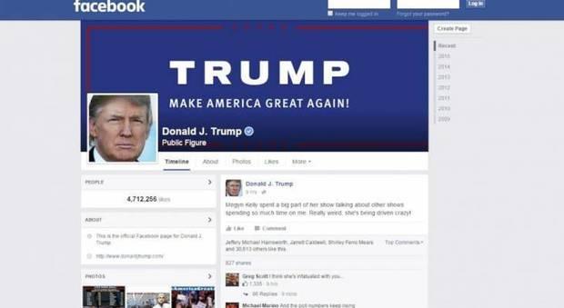 Facebook oscura società collegata alla campagna di Trump