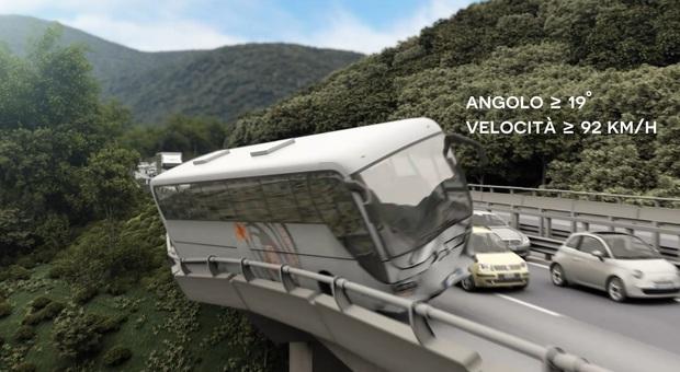 Strage del viadotto Acqualonga,  il bus si schiantò a velocità folle Il video choc della tragedia irpina
