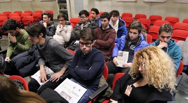 Sala Siani in foto i ragazzi dell'Istituto Salesiano Sacro Cuore Newfotosud Giacomo Di Laurenzio