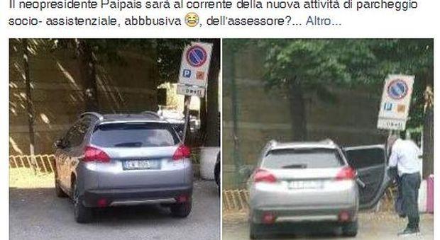 Napoli. Assessore municipale parcheggia su strisce disabili: è bufera social