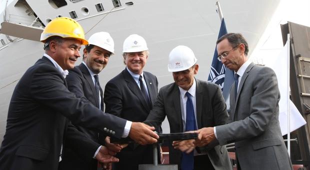 Msc presenta la nuova ammiraglia «È una Meraviglia, stupirà tutti»