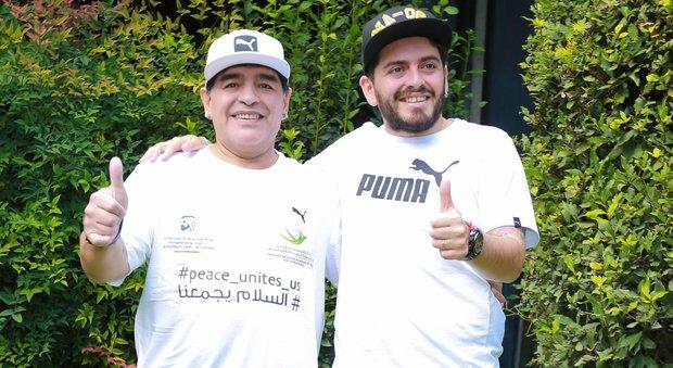 Maradona, il 5 luglio al Plebiscito con Diego jr: «Non vediamo l'ora»