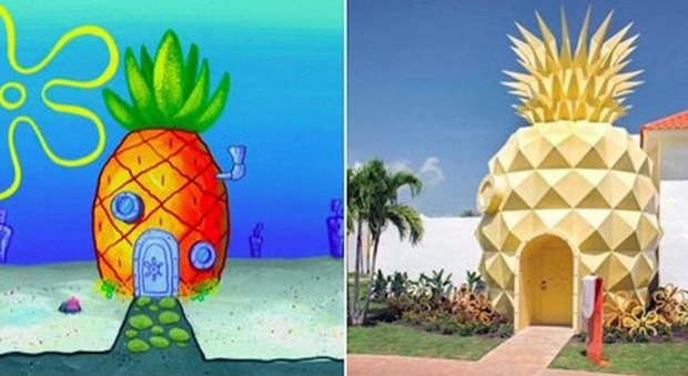 la casa di spongebob esiste davvero l 39 affitto costa