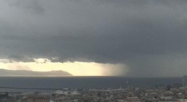 Campania: da domani allerta gialla Piogge e temporali fino a lunedì