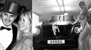 Mauro Icardi, un'altra auto a Wanda Nara: per i suoi 32 anni le regala una Bentley