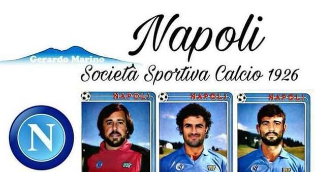 Il Napoli torna al passato sul web: Mertens e Reina come Diego e Garella