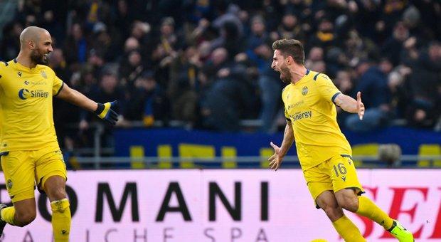 Il Bologna si illude, Borini firma il pari del Verona