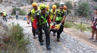 La strage del torrente in piena:  due 13enni napoletane in ospedale