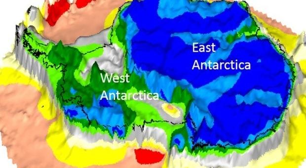 Antartide, scoperto continente perduto sotto i ghiacci: ha un miliardo di anni