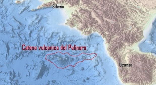 Mar Tirreno, scoperti 15 vulcani sommersi: è la catena del Palinuro
