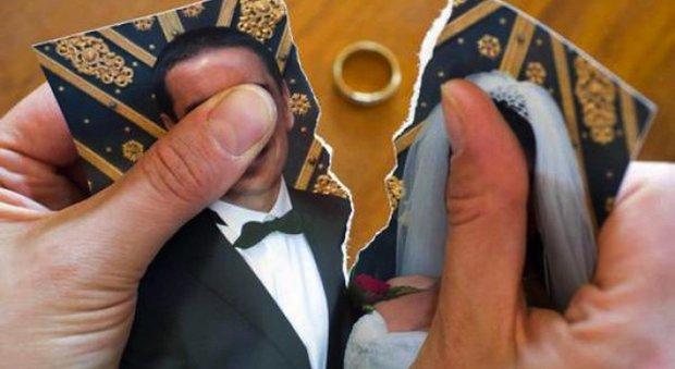 Tradisce la moglie e si separa: stop alle trattenute sullo stipendio