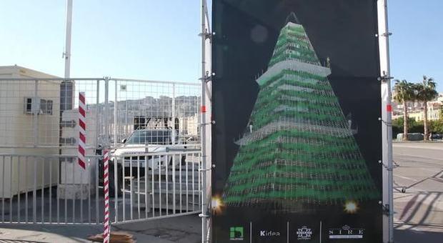 Napoli, Natale sul lungomare l'8 dicembre pronto N'Albero