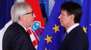 La manovra sul tavolo dell'Ue, Juncker e Conte: prove di dialogo