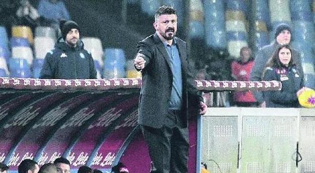 Napoli, Gattuso rompe il ritiro:  faccia a faccia, poi tutti a casa