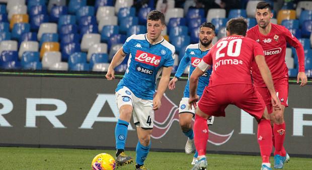 Napoli-Lazio, torna Meret tra i pali: Demme verso l'esordio da titolare