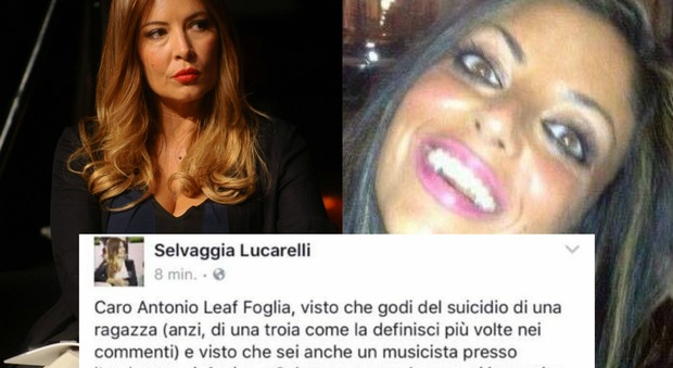 Tiziana Cantone, il commento senza pietà fa infuriare Selvaggia Lucarelli: «Ora tocca a quelle come te»