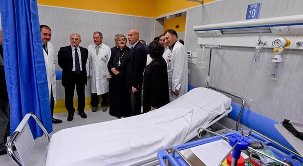 Napoli, inaugurato il nuovo pronto soccorso dell'ospedale Pellegrini