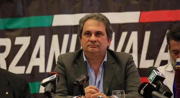 Roberto Fiore (Fn) fermato dalla Digos nel giorno del silenzio elettorale