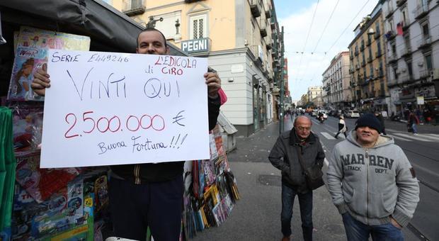 Lotteria Italia, c'è un nuovo milionario a Napoli: «Ma è possibile che sia un turista»